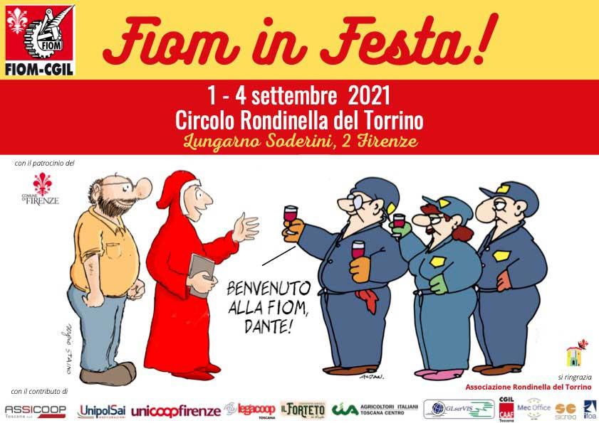 Si parla di filiera corta alla Festa della Fiom di Firenze. Dal 1° settembre al Circolo Rondinella del Torrino